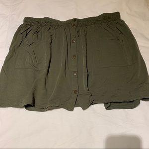 Plus size skirt F21